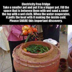 Electricity-Free Refrigerator                                                                                                                                                      More