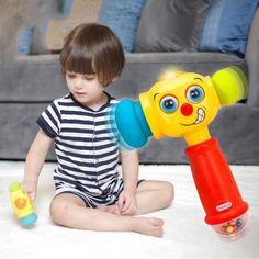 Baby Toys Toddler Play Hammer Toy with Music & Lights