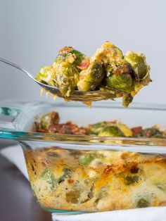 Bacon Brussels Sprouts Gratin Vertical 2
