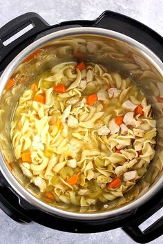 How to make a delicious and comforting Chicken Noodle Soup in the Instant Pot pressure cooker. For the original recipe, click HERE. REMEMBER TO SUBSCRIBE TO CRUNCHY CREAMY SWEET NEWSLETTER FOR FREE AND RECEIVE NEW RECIPE NOTIFICATIONS RIGHT INTO YOUR INBOX! PIN THIS RECIPE TO YOUR PINTEREST BOARD! SHARE ON FACEBOOK –>> Follow me on Pinterest, Facebook and Instagram for …