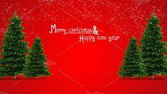 illustration of christmas tree Graphics illustration of christmas tree and happy new year by auimeesri