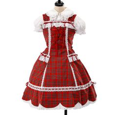 http://www.wunderwelt.jp/products/detail5847.html ☆ ·.. · ° ☆ ·.. · ° ☆ ·.. · ° ☆ ·.. · ° ☆ ·.. · ° ☆ Tartan skirt scalloped dress BABY THE STARS SHINE BRIGHT ☆ ·.. · ° ☆ How to order ↓ ☆ ·.. · ° ☆ http://www.wunderwelt.jp/user_data/shoppingguide-eng ☆ ·.. · ☆ Japanese Vintage Lolita clothing shop Wunderwelt ☆ ·.. · ☆ #egl