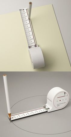 Creative measuring tape design
