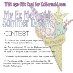 Last chance to win a $50 Ex Mermaid shopping spree! #exmermaid #summerdream