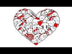 Heart Doodle ♥ - YouTube