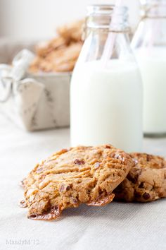 So trying these one day! Pecan Caramel Cookies