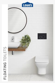Browse floating, self-cleaning, composting and smart toilets in stock today. Diy Pallet Furniture, Shabby Chic Furniture, Urban Furniture, Tiny Half Bath, Cadre Diy, Pottery Barn, Smart Toilet, Pantry Makeover, French Country Kitchens