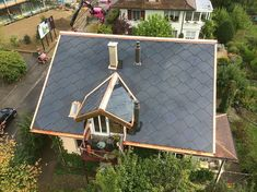 Renewable Energy, Solar Energy, Get Off The Grid, Solar Roof Tiles, Energy Technology, Architecture, Future House, Sustainability, House Plans