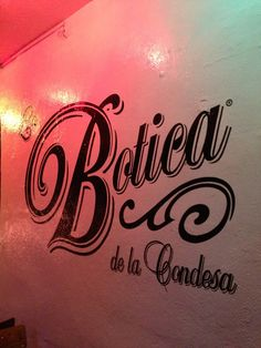 DRINK: La Botica in Cuauhtemoc, Distrito Federal {opens 5pm, closed sunday}