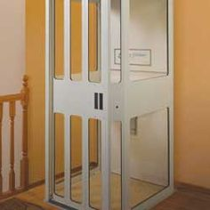 This Home Elevator Can Fit A Wheelchair Too Elevators