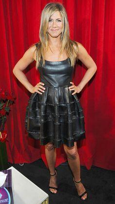 Jennifer Aniston's 32 Best Little Black Dresses Ever - January 9, 2013  - from InStyle.com