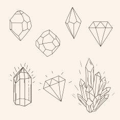 - Diamond - Hand drawn set sketch crystal,diamond and polygonal figure tattoo. Hand drawn set sketch crystal,d. Illustration Cristal, Diamond Illustration, Art Colibri, Crystal Drawing, Diamond Drawing, Diamond Sketch, Tattoo Diamond, Diamond Doodle, Handpoke Tattoo