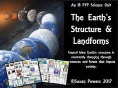 Take the children to the centre of the Earth! Be the Miss Frizz  of your classroom with this complete earth science, IB PYP unit of inquiry. How the World Works: Central idea: The Earths structure is constantly changing through processes and forces that can impact society.