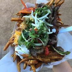 2 of my favorite foods combined & surprised I haven\'t heard of this before!  #Repost @rachelsrlm  Haven\'t tried our Fajita Fries yet? Come see us at @backyardonbell 11-2 & 5-10!! #rachelsrlm #Backyardonbell #Shopdenton #Scoutdenton #Dentoning #Discoverdenton #UNT #TWU #Onlyindenton #Dentonslacker #Wddi #Fodiesindenton #Dentonproud #Denton #Dentontx #Thedentonite #Eatdfw #Dentonfoodtrucks