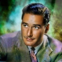 """The handsome and charismatic Errol Flynn. He was a magnet for the ladies, and there were many, which led to the Aussie saying """"In like Flynn"""", meaning success in winning over a lady."""