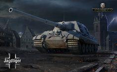 壁紙をダウンロードする 世界の戦車, 猟虎, ドイツ自走砲, WoT, ドイツ, 自走砲システム, タンクタイガーハンター