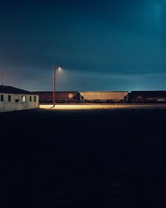 Available for sale from Casemore Kirkeby, Todd Hido, Untitled Archival pigment print, 48 × 38 in Minimal Photography, Urban Photography, Night Photography, Color Photography, Street Photography, Landscape Photography, Stephen Shore, William Eggleston, Nocturne