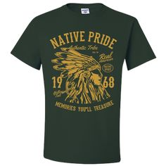 Native Pride Shirts American Clothing T shirts For Men Women Adult Unisex T-Shirt American Clothing, American Apparel, Unisex Gifts, Pride Shirts, Men And Women, Sleeves, Mens Tops, T Shirt, Clothes