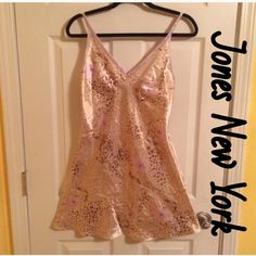 NWOT - jones New York Nightgown Leopard and flowers. Gorgeous a soft. Jones New York Intimates & Sleepwear Chemises & Slips