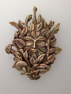 Goldie Bronze Celtic Greenman