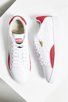 Puma Match Leather Low-Top Basic Sport Sneaker