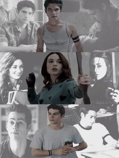 Teen Wolf. They all have two black bands somewhere on the. Wrist, finger and arm