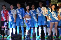 Puebla FC Clausura 2013 Pirma Home and Away Jerseys