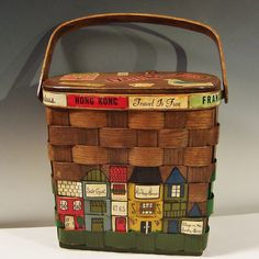 new bf: Vintage Caro-Nan Basket Purse