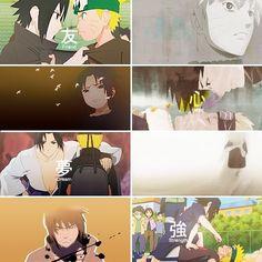 Rivals, yet best friends. Sasuke Uchiha and Naruto Uzumaki.