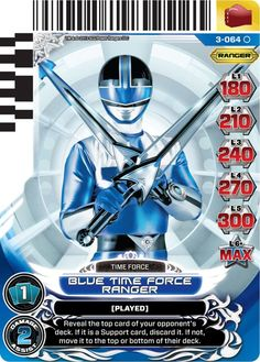 Henshin Grid: Universe of Hope Power Rangers Action Card Game (Series Three)