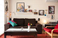 Un vistazo a nuestro salón para el reto La casa del año | Decorar tu casa es facilisimo.com
