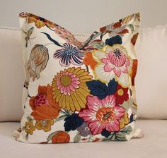 No sew pillow - gonna make Euro shams this way as can never find any that aren't very expensive.