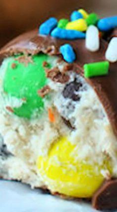 Monster Cookie Dough Truffles
