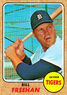 1968 Topps #470 Bill Freehan Front