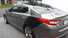 This #ModMonday we are showing off Gerry Brady's #KIA #Optima! Nice work & thanks for sharing!!