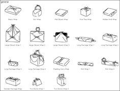 Vi servono idee per avvolgere un ragalo con un furoshiki? Ecco qui tanti modi per avvolgere i vostri oggetti in modo originale. Su www.artigianatogiapponese.it troverete tanti furoshiki colorati e di diverse misure.