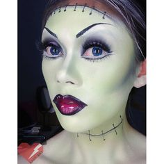 Frankenstein Halloween Makeup
