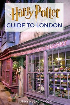 Harry Potter Guide for Visiting London. If you want to visit London and do everything Harry Potter, this guide is a collection of reviews and videos to make your trip magical.