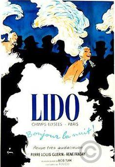 Lido: Bonjour la Nuit! (c.1971) by René Gruau