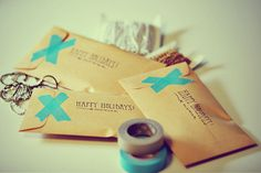 Pretty Packaging with Washi Tape by Moorea Seal