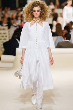 Chanel | Cruise/Resort 2015 Collection via Karl Lagerfeld | Modeled by Brogan Loftus | May 13, 2014; Dubai | Style.com