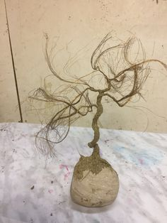 TAE tree - Making of copper wire tree - Bonsai Penjing style Peace Art, Wire Trees, Miniature Trees, Wabi Sabi, Recycled Materials, Copper Wire, Bonsai, Sculpture Art, Nature