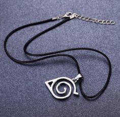 Naruto Hidden Leaf Necklace