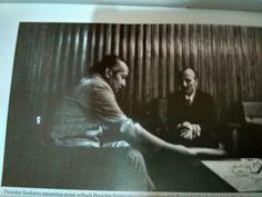 Presiden Soeharto menerima pesan pribadi Presiden Syria yang disampaikan oleh kuasa Usaha Syiria Moh Dia Daghestam di Bina Graha 24 Oktober 1973