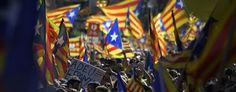 Manifestation géante pour l'indépendance de la Catalogne - Le Temps