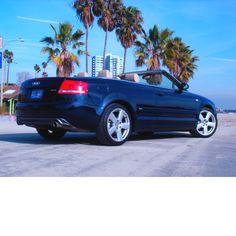 2007 Blue Audi A4 Convertible