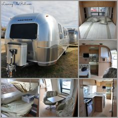 Our Bunkhouse Airstream the way we found her