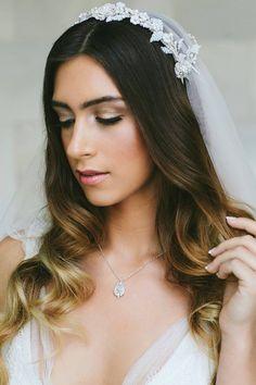 Crystal Wedding Neck