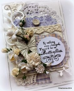 Live & Love Crafts' Inspiration and Challenge Blog: Butterflies