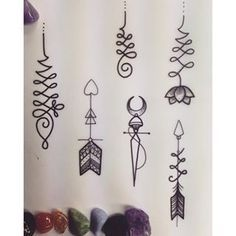 unalome arrow tattoo - Поиск в Google
